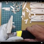 自作ルアーの作り方①設計図、ボディーの削り方|100均の木材で作るジョイントルアー